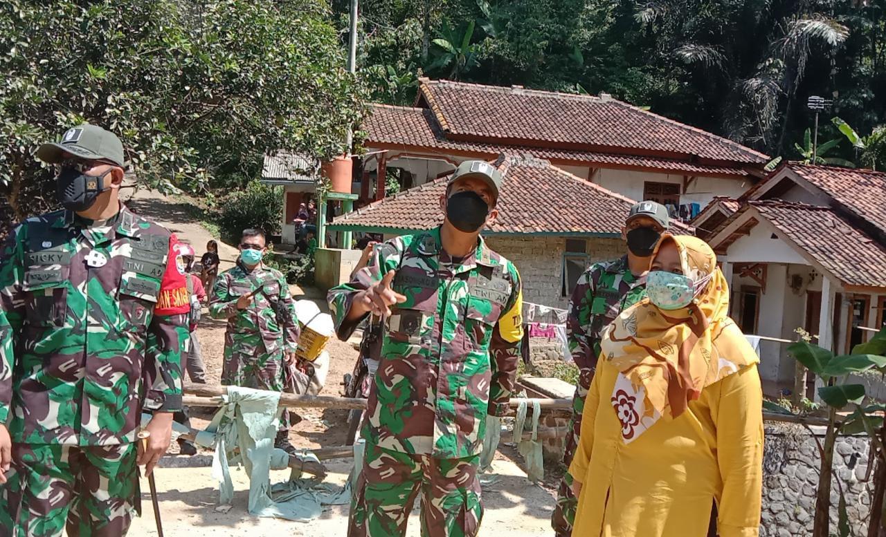 Tunggu Satu Pekan, Warga Desa Ciandam Sudah Dapat Menggunakan Jalan Mulus